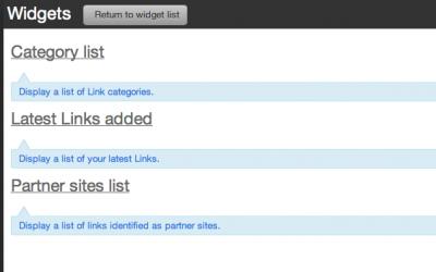 2 site link widgets