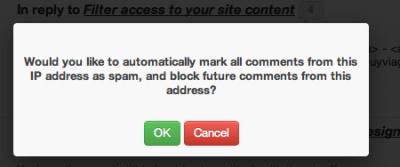 4 spam comment management