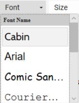 Cabin Font