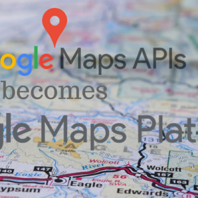 Charged google maps api