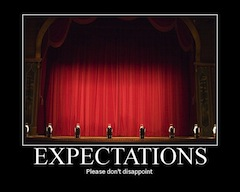 Expect your visitors to arrive with expectations