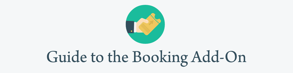 Guide to the booking addon