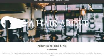 A hair above