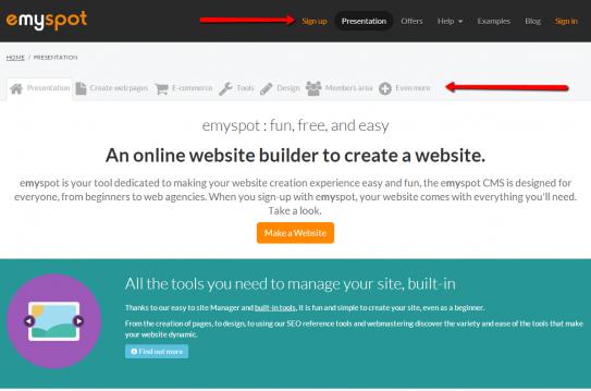how to create naviagation bar horizontal html