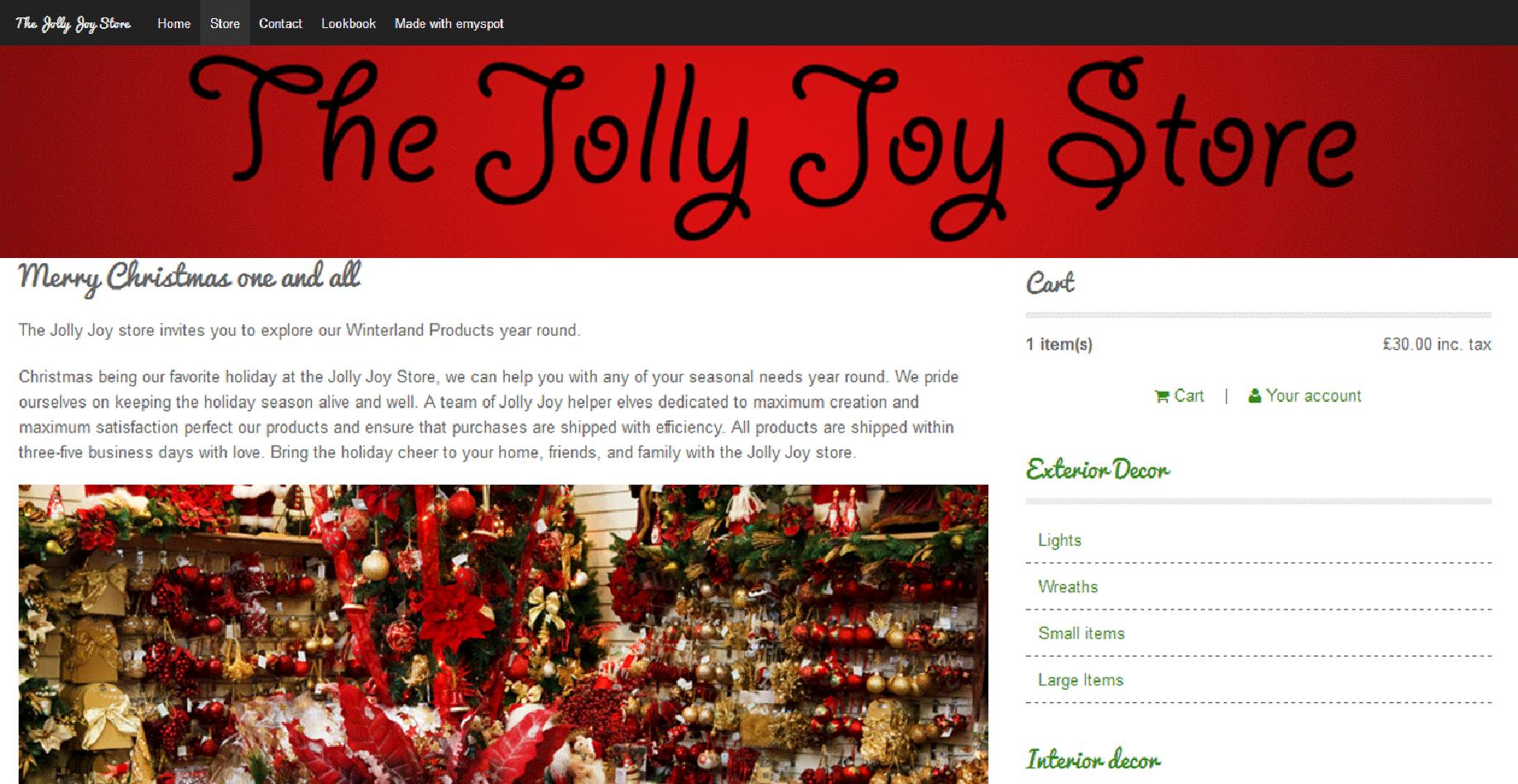 Jolly joy store 1