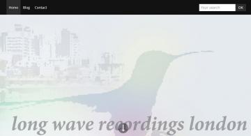Long wave Recordings London