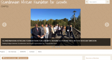 Scandinavian African Foundation for Growth