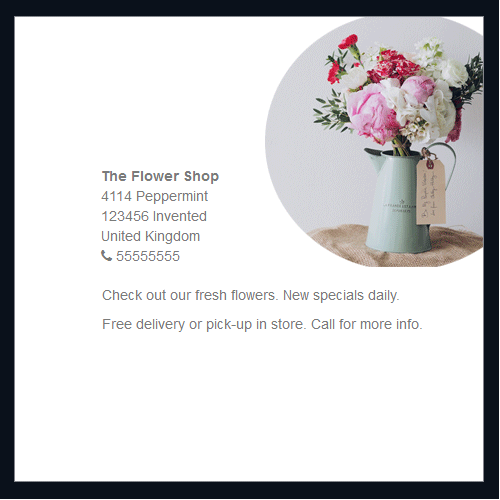 The flower shop 1