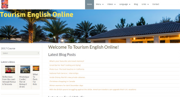 Tourism English Online