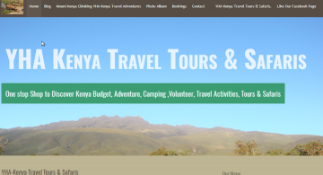 YHA Kenya Travel Tours & Safaris